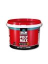 bison poly max ms-polymer hoogwaardige montagelijm op basis van ms-polymer met zeer hoge eindsterkte, voor binnen en buiten emmer,, per stuk